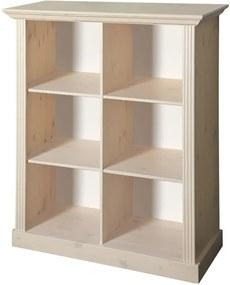 Sconto Regál/knižnica MONACO 144 borovica biela