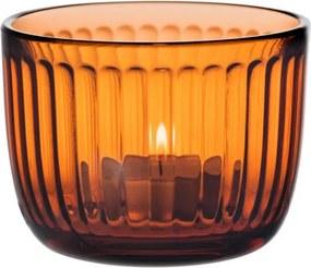 Svietnik Raami 9cm, oranžový seville Iittala