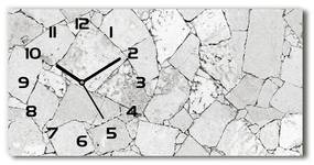 Sklenené hodiny na stenu Kamenná chodník pl_zsp_60x30_f_77063653