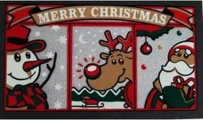 Vianočná rohož pred dvere MARRY CHRISTMAS-Taliansko