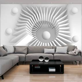 Fototapeta Bimago - White jigsaw + lepidlo zadarmo 150x105 cm