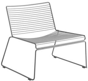 HAY Kreslo Hee Lounge Chair, grey