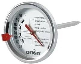 Orion Nerezový teplomer na pečenie mäsa