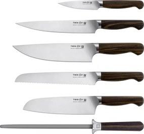 ZWILLING Súprava nožov s blokom a ocieľkou 7-dielna TWIN® 1731