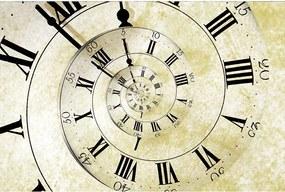 Dimex SK Fototapeta Špirálové hodiny MS-0272, 3 rôzne rozmery XL - š-375 x v-250 cm