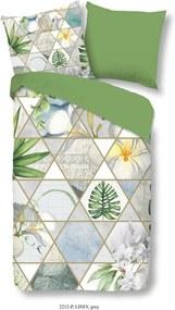 Obliečky na jednolôžko z bavlneného saténu Good Morning Good Morning Lissy, 140 × 200 cm