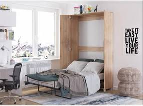 WIP TEDDY posteľ Sonoma svetlá 90x200 cm
