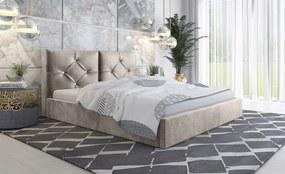 PROXIMA.store - Čalúnená posteľ SLIM V - farba na mieru - 120/140/160/180 Veľkosť postele: Pre matrac 120 x 200 cm
