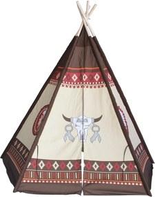 Hračka G21 STAN TEEPEE Tajomstvo prérie, indiánsky vzor