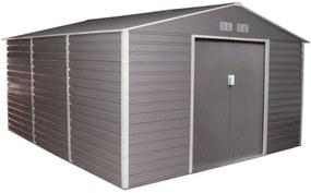 G21 Záhradný domček GAH 1300 - 340 x 382 cm sivý 63900581