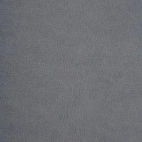 vidaXL Chesterfield pohovka v tvare L zamatové čalúnenie 199x142x72 cm sivá