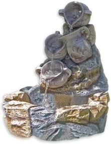 Záhradná fontána - fontána krčahy 70 x 83 x 75 cm