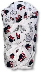 Obliečka na zavinovačku Mickey Mouse RED 73x73cm