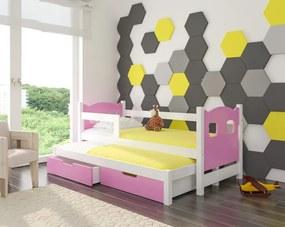 Detská rozkladacia posteľ Victoria 08