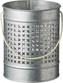 Bloomingville Plechový lampáš Light Beige