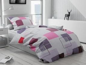 Obliečky Silvia fialová
