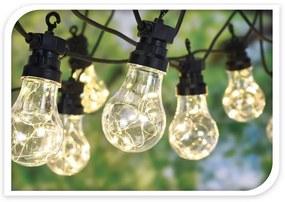 Koopman Svetelná reťaz Bulbs, 80 LED