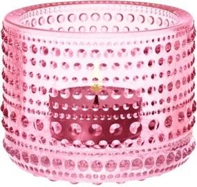 Svietnik Kastehelmi, ružový Iittala