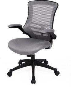 Rongomic Kancelárska stolička Zhetan sivá