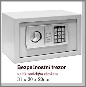 Trezor bezpečnostný ESF06 šedá V20 x S31 x H20cm