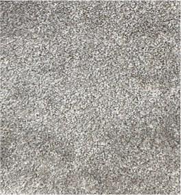 Vopi koberce Metrážový koberec Apollo Soft šedý - Rozměr na míru bez obšití cm
