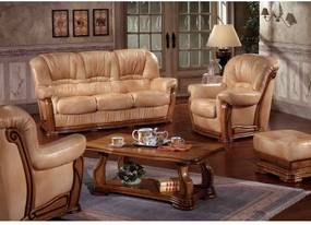 Rustikálna sedacia súprava Helene 3+1+1-Komfort-nábytok