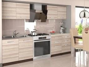 Moderná sektorová kuchyňa Kalifornia 160 cm
