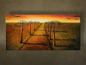 Ručne maľovaný obraz KRAJINA BI0039E1