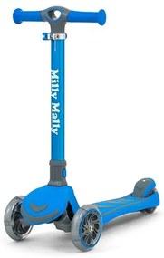MILLY MALLY Nezaradené Detská kolobežka Milly Mally Scooter Boogie modrá Modrá |