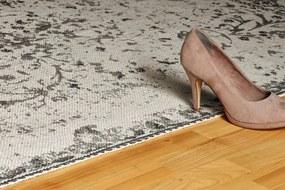 Obsession koberce Ručně tkaný kusový koberec Stockholm 340 ANTHRACITE - 60x110 cm