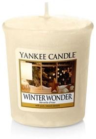 Yankee Candle vonná votívna sviečka Winter Wonder
