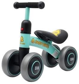 BABY MIX Nezaradené Detské odrážadlo Baby Mix Baby Bike zelené Zelená |
