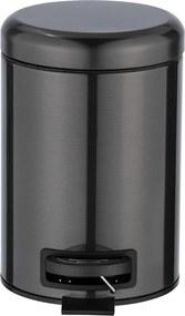 Čierny odpadkový antikoro kôš Wenko, 3 l