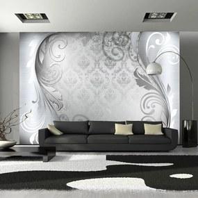 Fototapeta Bimago - Gray ornament + lepidlo zadarmo 100x70 cm