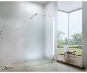 Sprchová zástěna MEXEN WALK-IN transparentní, 80 cm