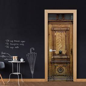 Bimago Fototapeta na dvere - Medieval Entrance 100x210 cm