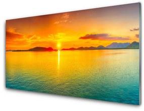 Nástenný panel More slnko krajina 140x70cm