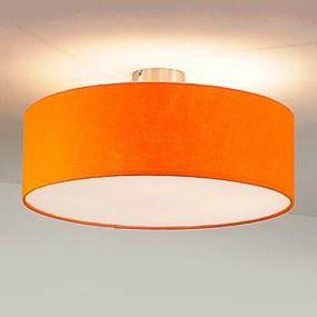 Stropné svietidlo Gala 50 tienidlo plsť oranžové