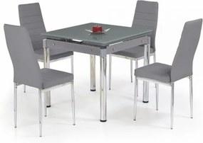 Jedálenský stôl Kent sivá