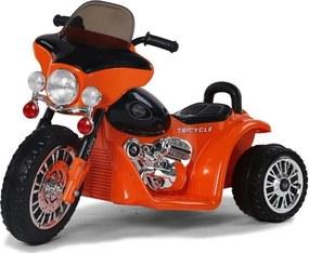 Joko PA0116 PO Detská elektrická motorka oranžová