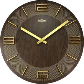 Nástenné hodiny drevené MPM E01P.4082.52