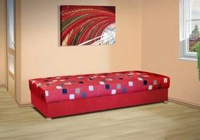 Čalouněná válenda s úložným prostorem Belinda Barva potahu: červená 54031-1018, nosnost: standardní nosnost 100 kg