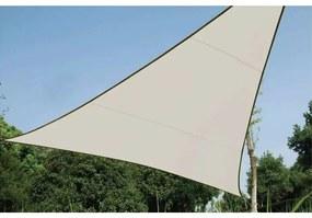 Perel Tieniaca plachta trojuholníková 3,6 m krémová GSS3360