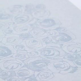 Obrus Ruusua 150x150, modrý Lapuan Kankurit
