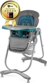 G-MINI Detská jedálenská stolička Mambo – lazulit