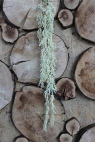Zelený svetlý umelý trs guličiek kvetu palmy 70cm