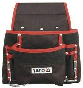 Yato YT-7410 Kapsár za opasok na náradie s 8 vreckami, čierna