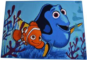 Carpet your life Detský koberec Finding Dory, 95x133 cm - modrý