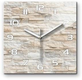 Sklenené hodiny na stenu Murovaná múr pl_zsk_30x30_f_92760145