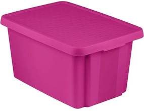 CURVER ESSENTIALS 45L úložný box 40 x 57 x 30 cm ružový 00756-437